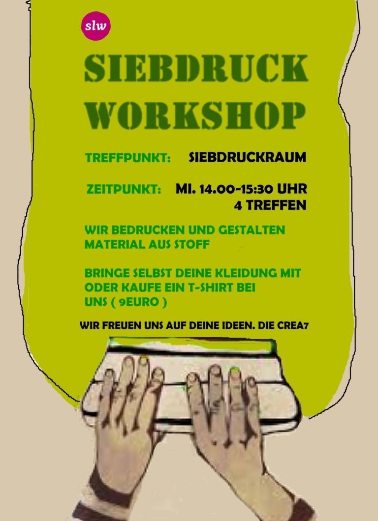 Flyer Siebdruckworkshop